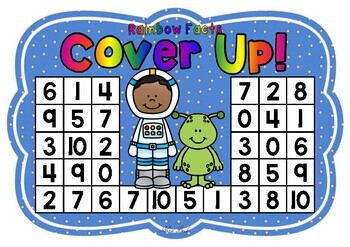 Rainbow Facts Cover Up! Space Theme