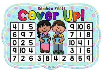 Rainbow Facts Cover Up! Spring Theme