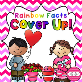 Rainbow Facts Cover Up! Valentine's Day Theme