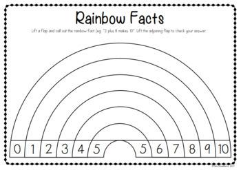Rainbow Facts Craft Activity