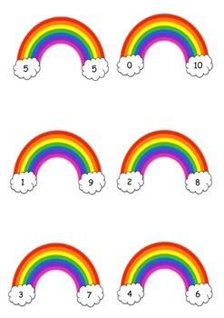 Rainbow Facts / Rainbow Friends Match Game