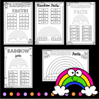 Rainbow Facts Worksheets