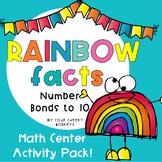 Rainbow Facts   number bonds to 10 activities / friends of ten