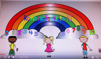 Rainbow Facts to 10
