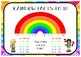 Rainbow Facts to 10 Poster
