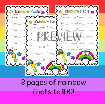 Rainbow Facts to 100