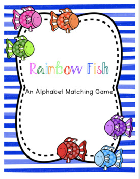 Rainbow Fish ABC Match