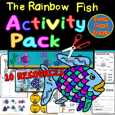 """Rainbow Fish Activity Pack - 9 Resources """"I Like to Share!"""""""