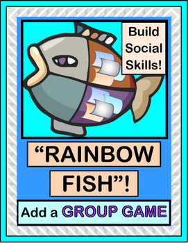"""""""Rainbow Fish"""" - Book Companion with a Group Game and Song!"""