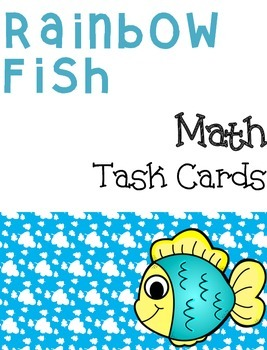 Rainbow Fish: Addition and Subtraction Task Cards