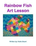 Rainbow Fish Art Lesson!