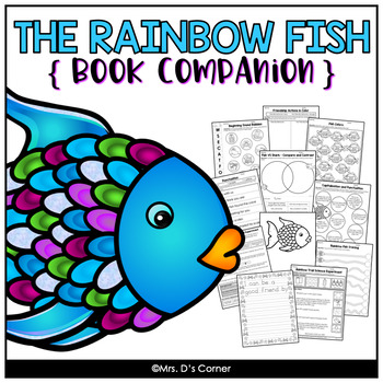 The Rainbow Fish Bulletin Board Worksheets Teaching