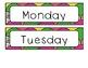 Rainbow Fish Calendar Set