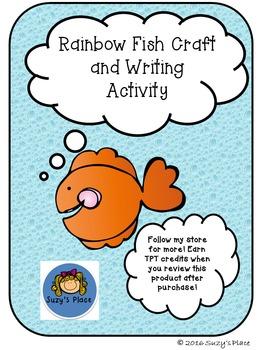 Rainbow Fish Craft and Writing Activity