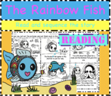 Rainbow Fish Sequencing: Cut and sequence the story - no writing