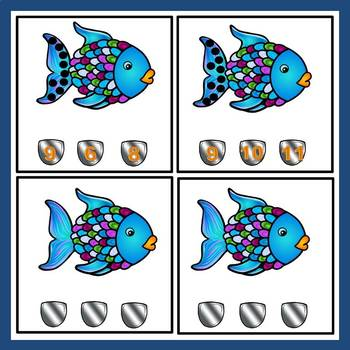 Rainbow Fish FREE Math Task Cards
