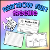 Rainbow Fish Freebie - Writing & Story Elements Worksheets