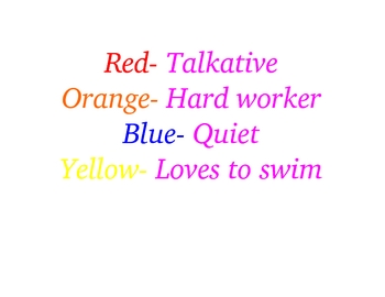 Rainbow Fish Fun!!
