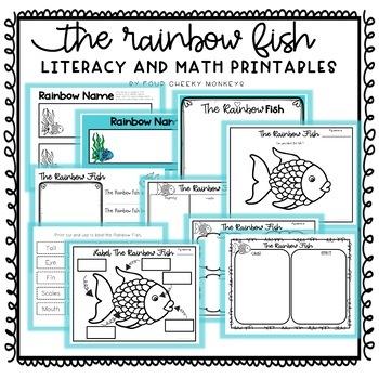 Rainbow Fish - Literacy and Math Activities | Printables