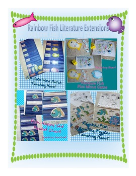 Rainbow Fish Literature Extensions Math and Reading Centers and Games