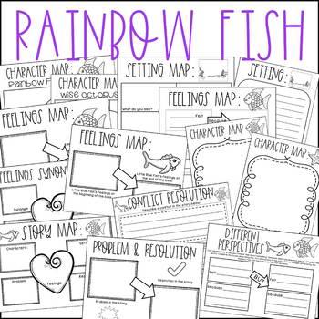Rainbow Fish No Prep Book Companion