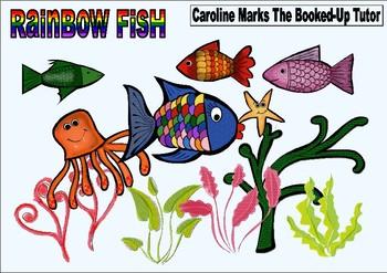 Rainbow Fish Ocean Clipart Clip Art Under the Sea