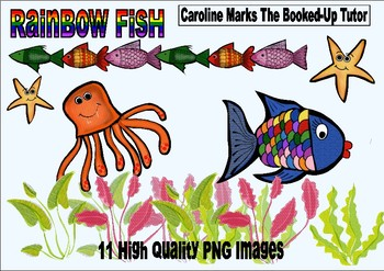 Rainbow Fish Ocean Clipart Clip Art Under the Sea