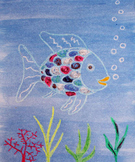 Rainbow Fish Painting Activity