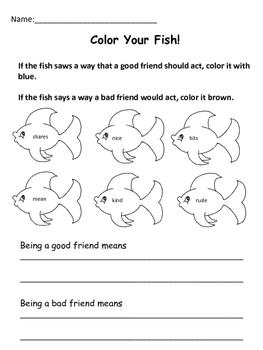 Rainbow Fish Reading and Literacy Unit