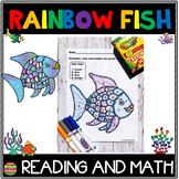 Rainbow Fish | Reading and Math Packet