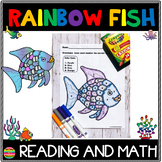 Rainbow Fish | Reading and Math Packet