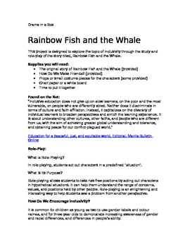 Rainbow Fish- Role Play