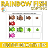 Rainbow Fish Sorting File Folder Activities