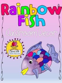 Rainbow Fish Style Classroom Decor