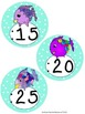 Rainbow Fish Style Clock Labels