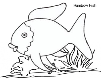 Rainbow fish template by teacher nanay teachers pay teachers rainbow fish template maxwellsz