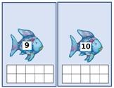 Rainbow Fish Ten-Frames