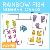 Rainbow Fish Themed Number Cards