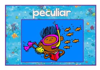 Rainbow Fish Vocabulary cards