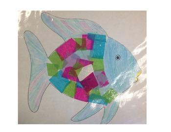 Rainbow Fish Writing and Craftivity!