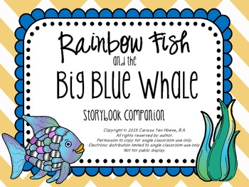 Rainbow Fish and the Big Blue Whale: Speech & Language Storybook Companion