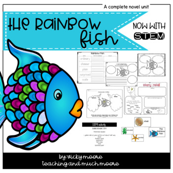 Rainbow Fish Math Worksheets Teaching Resources TpT