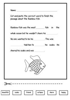 Rainbow Fish closed passage