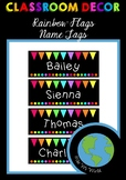 Name Tags - Rainbow Flags