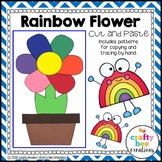 Rainbow Flower Craft