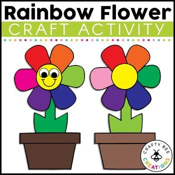 Rainbow Flower Craft