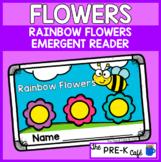 Rainbow Flowers Emergent Reader | Spring | Pre K | Kinderg