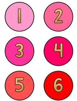 Rainbow Foil Numbers