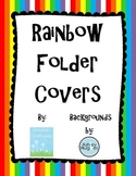 Rainbow Folder Covers
