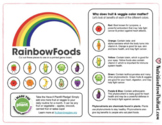 Rainbow Foods Board Game